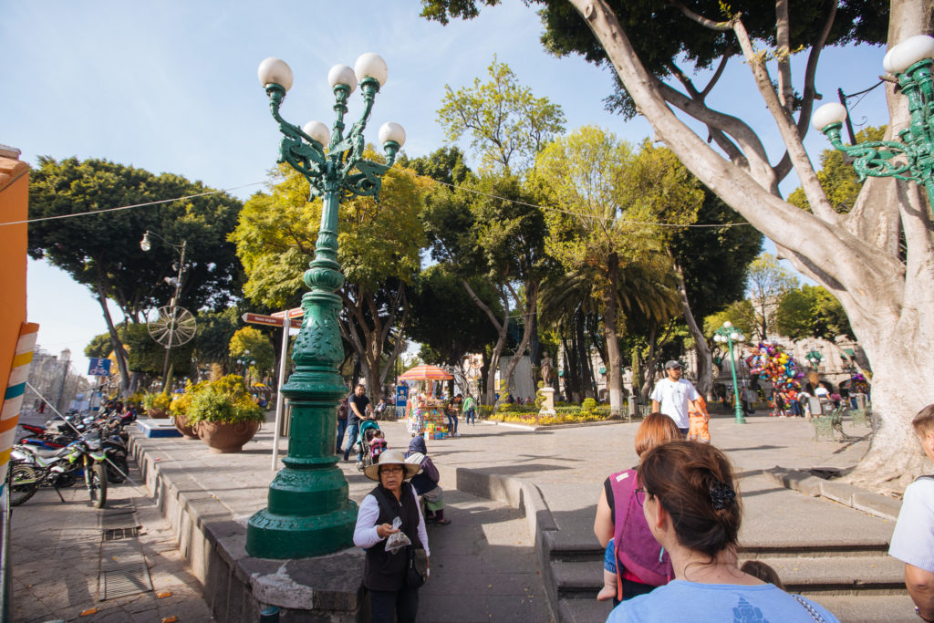 Puebla zócalo