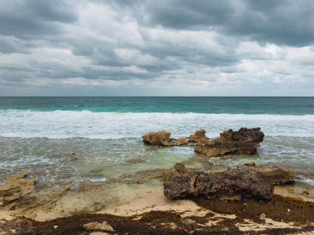 Blick aufs Meer vom mirador aus