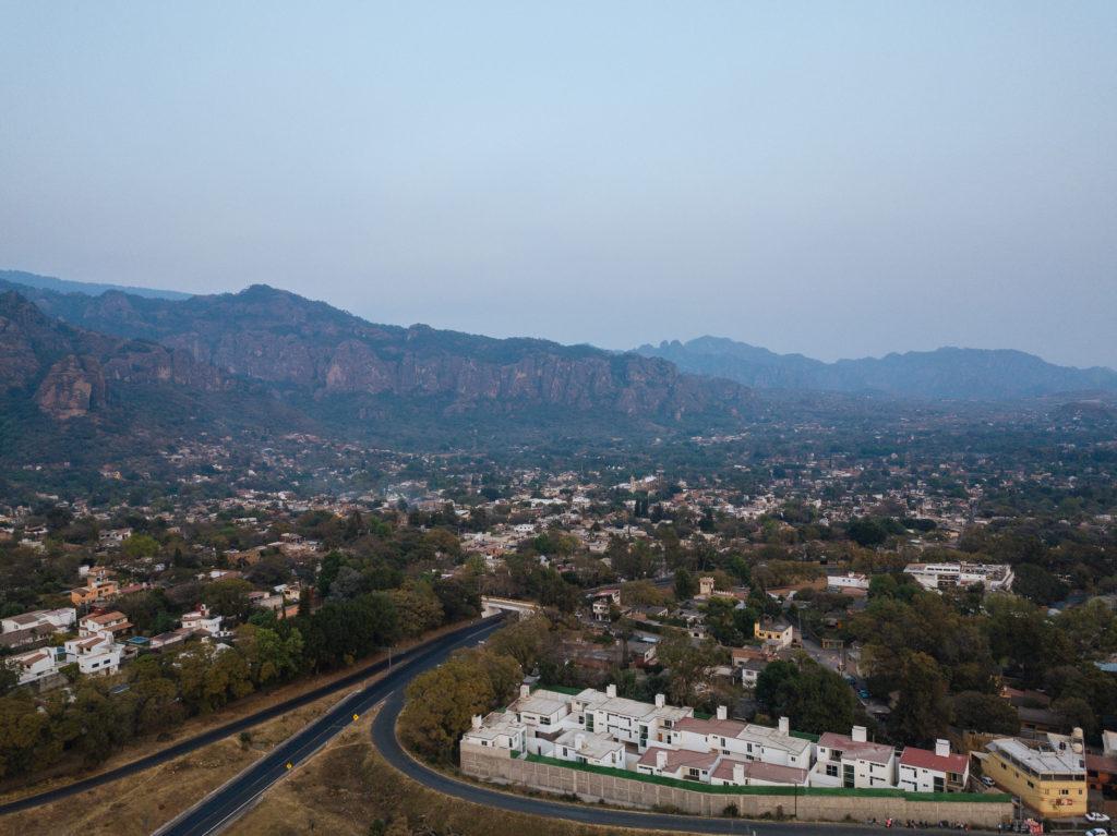 Drohnenbild Tepoztlán
