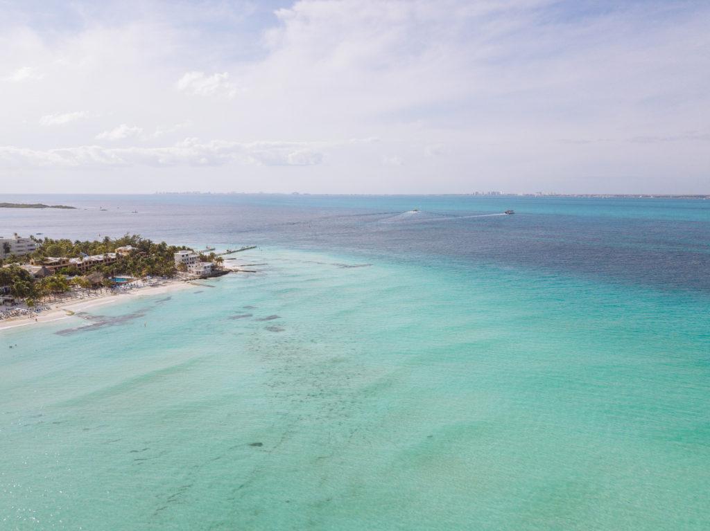 Playa Norte und Fähre zum Gran Puerto