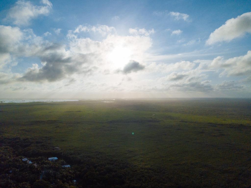Dschungel und Sian Ka'an aus der Luft