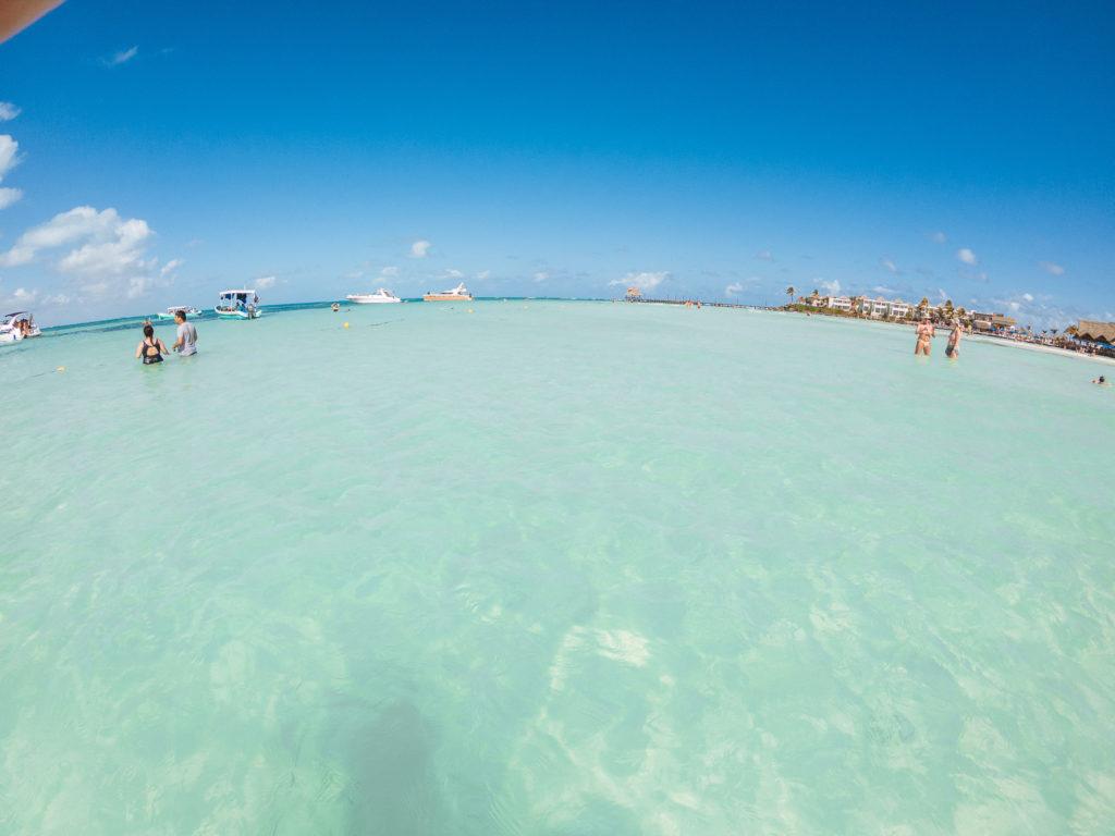 Meer vor der Playa Norte