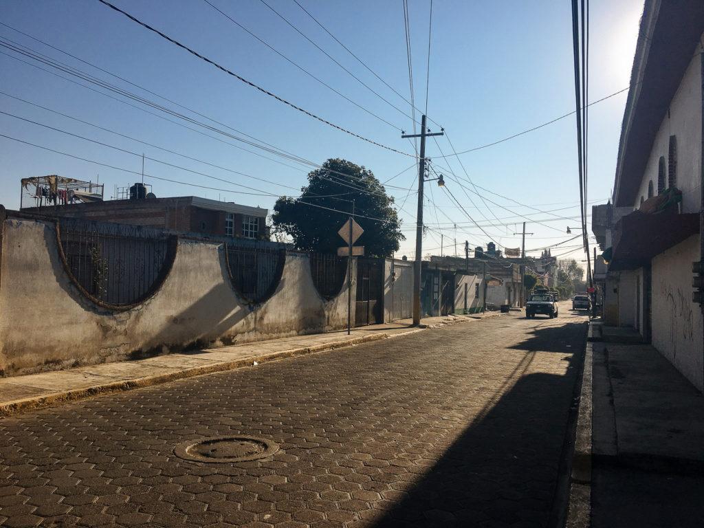 Calle del Cedro Cholula