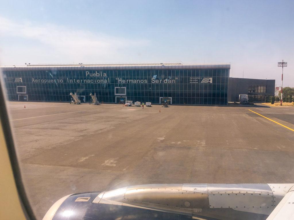 Aeropuerto Hnos. Serdan Puebla