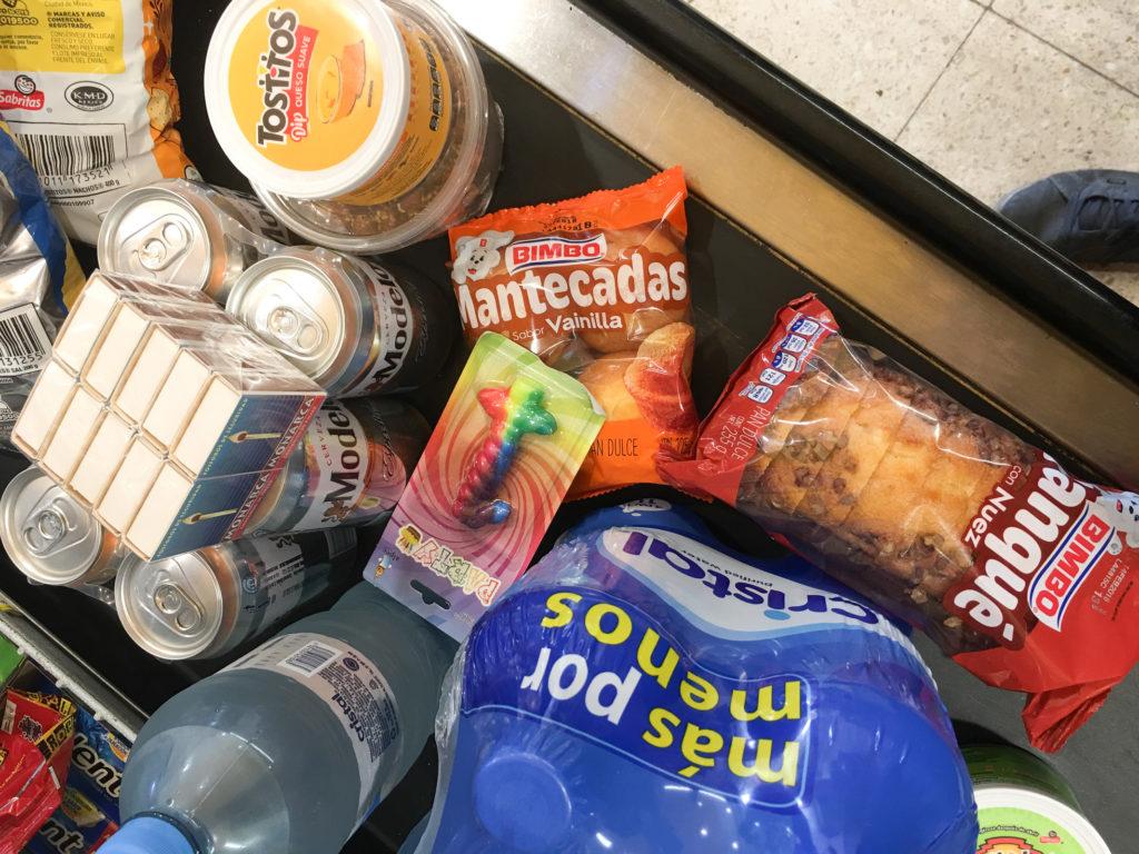 Der erste Einkauf auf Isla Mujeres