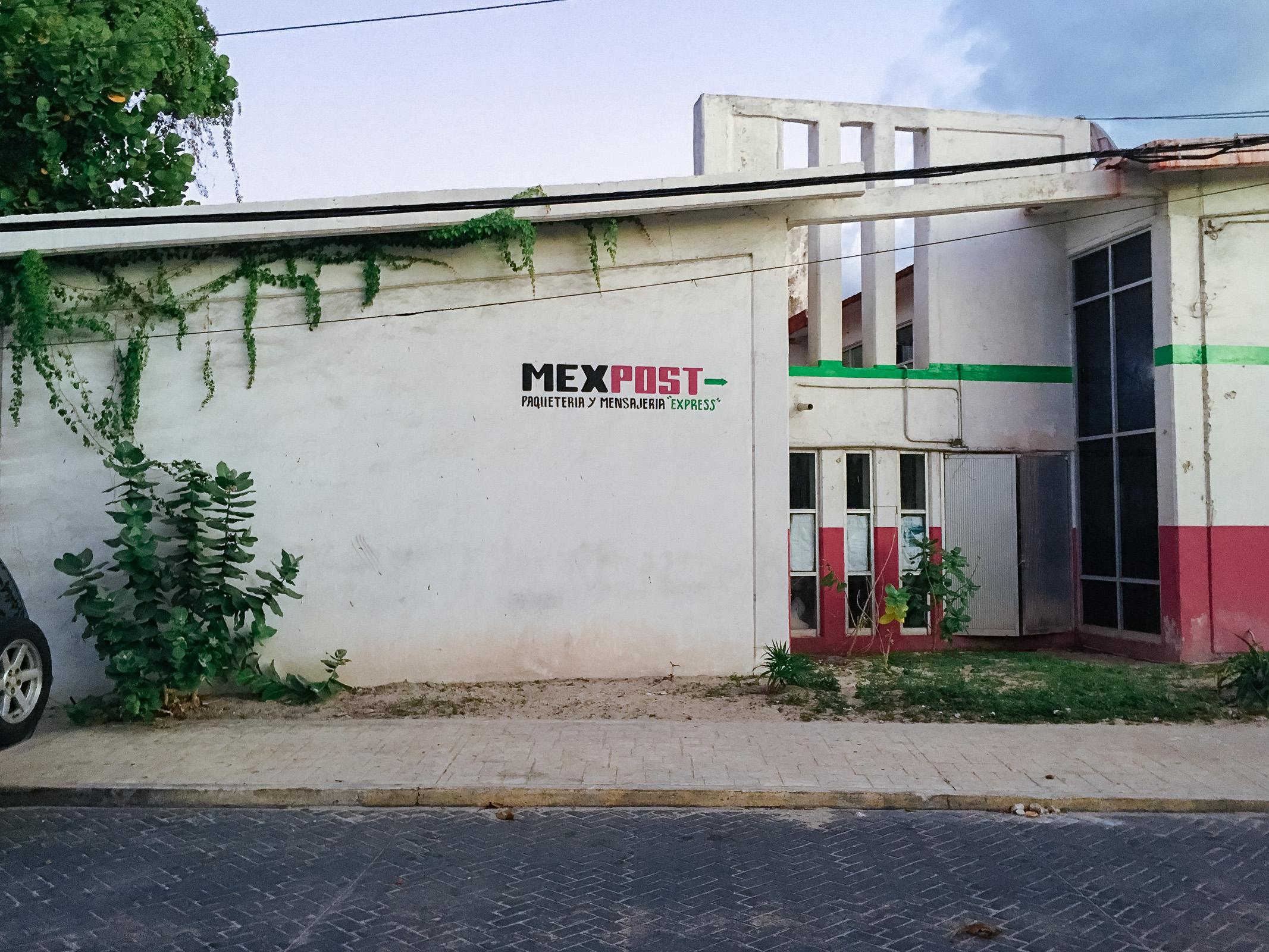 Post im Municipio Isla Mujeres