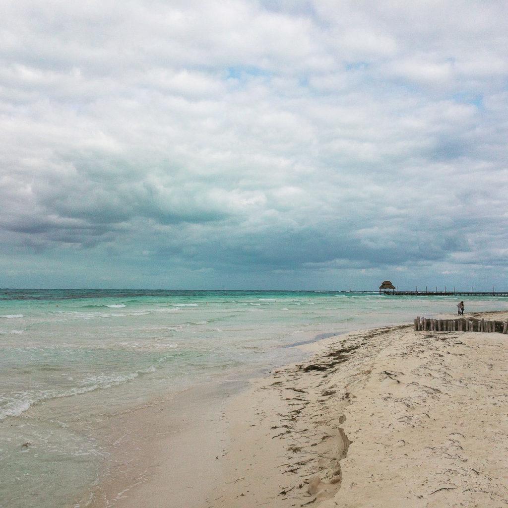 Wolkendecke auf Isla Mujeres