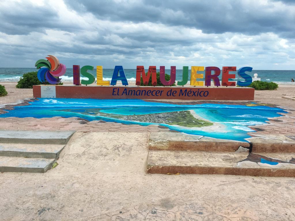 Schriftzug Pueblo Magica Isla Mujeres