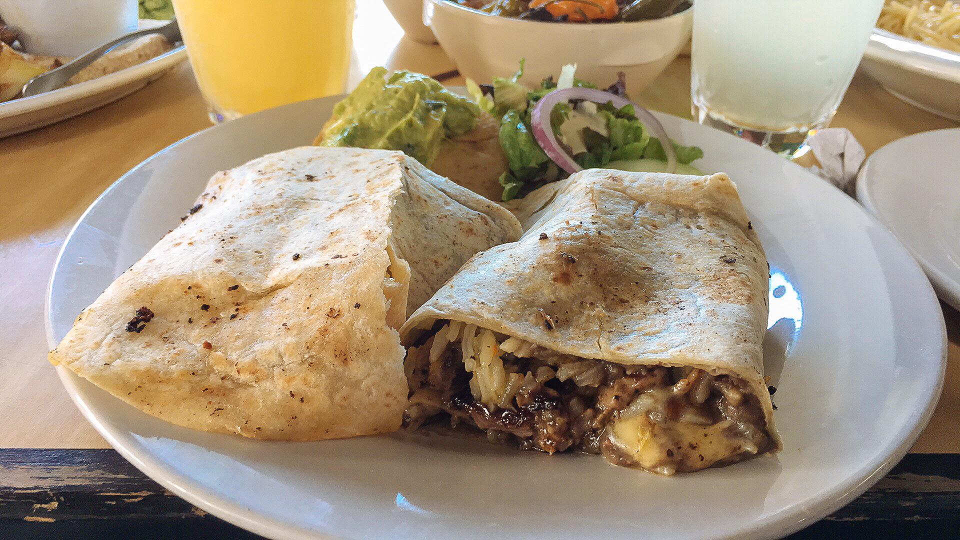 Burrito de Arrachera, Don Caféto Tulum